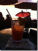 Oahu Hawaii sunset drink