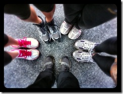 Hot Chocolate 15K group Shoes