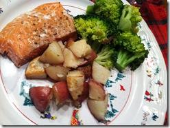 NC Xmas Dinner plate