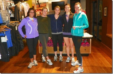 First Cherry Creek lululemon Group Run March 2011