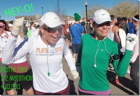 Platte River Half Marathon Gals