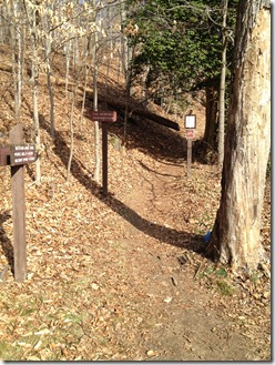 RCP hike Military Trail head