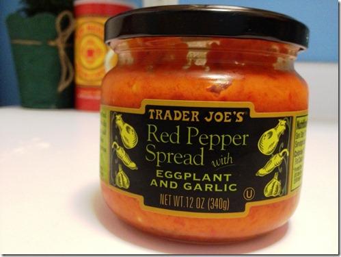 TJ Eggplant Red Pepper dip