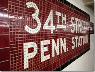 34th street Penn Station