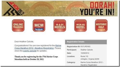 MCM 2012 Registration