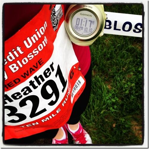 CB 10-miler 2012 results