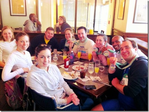 CB 10 miler brunch