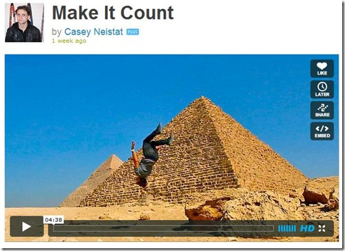 Make it Count video