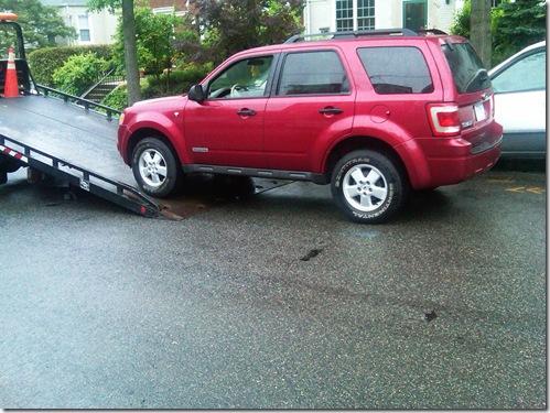 Escapay towed