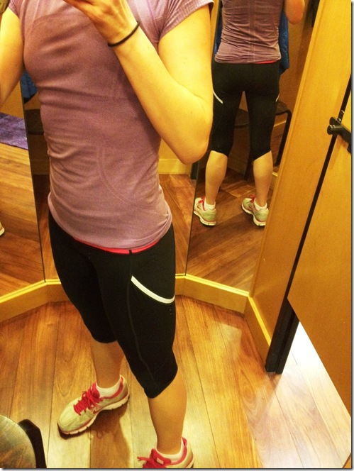 lululemon Run A Marathon crop