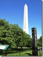 summer washington monument