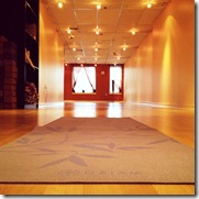 yoga studio space