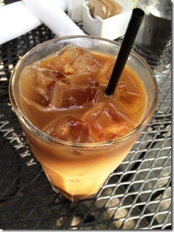Zanzibar Cafe iced coffee