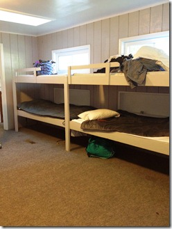 Camp Letts bunks