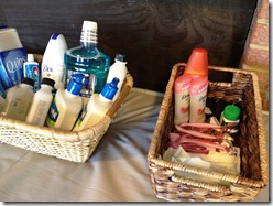 lululemon retreat baskets