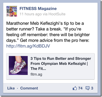 Mebs running advice