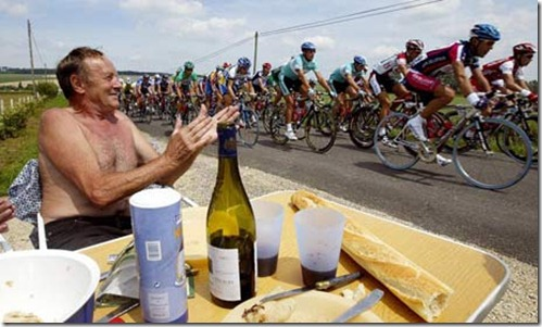 TDF wine fan