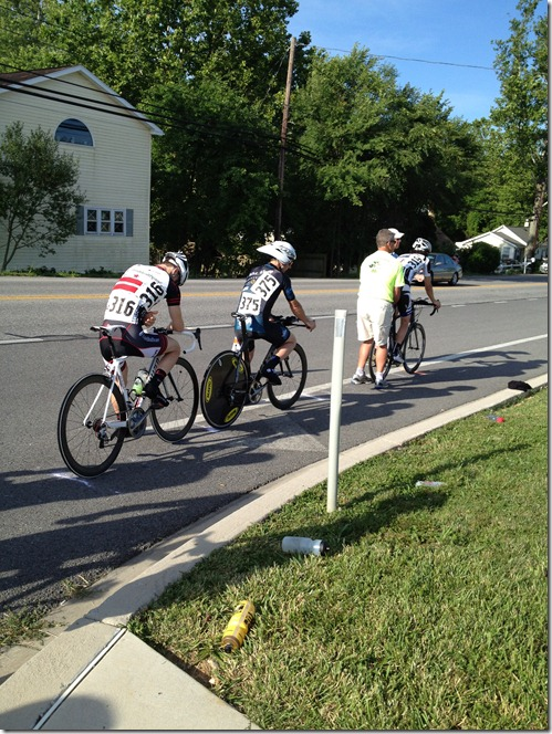 Tour of Washington County Time Trial line-up