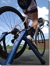 ToWC bike trainer warm-up