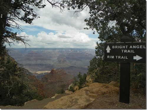 Grand Canyon Bright Angel Trailhead
