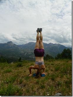 Hike Headstand