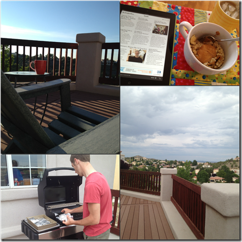 Home Deck Collage