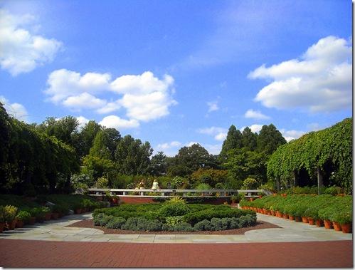 National Arboretum garden