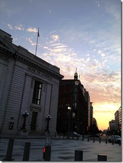 Sunrise Lafayette Park DC 3