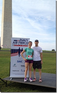 Navy-Air Force Half Marathon us_finish