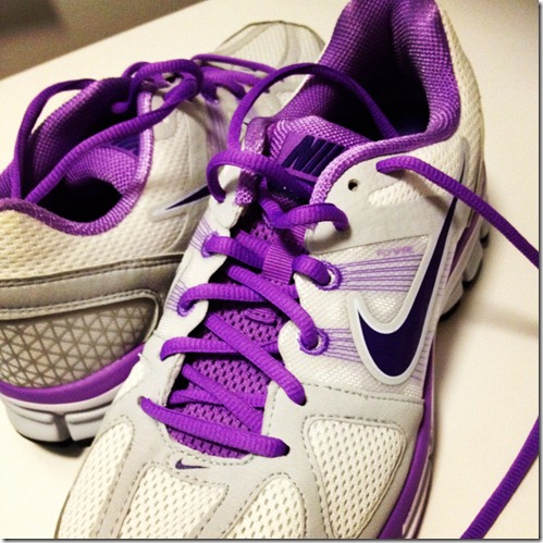 purple nike pegasus shoes