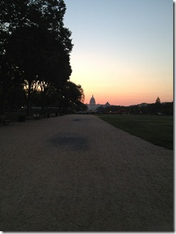 sunrise Capitol bldg