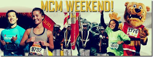 MCM Weekend banner