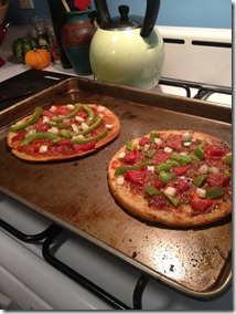 homemade gf pizzas