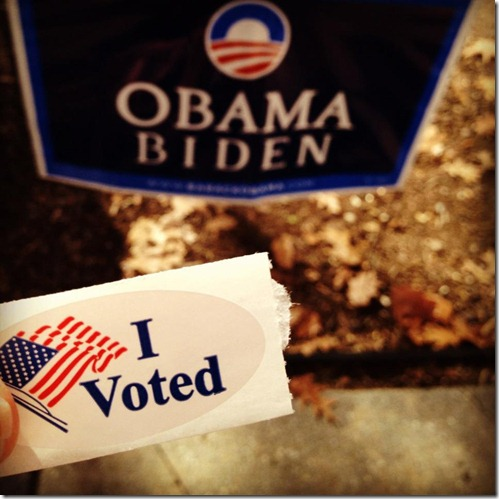 I voted for Obama