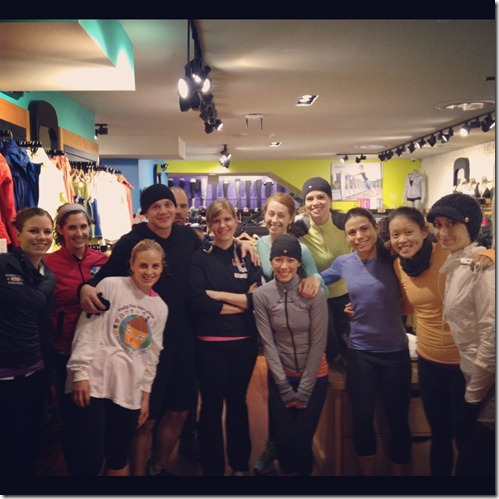 lululemon georgetown run club 11.6.12